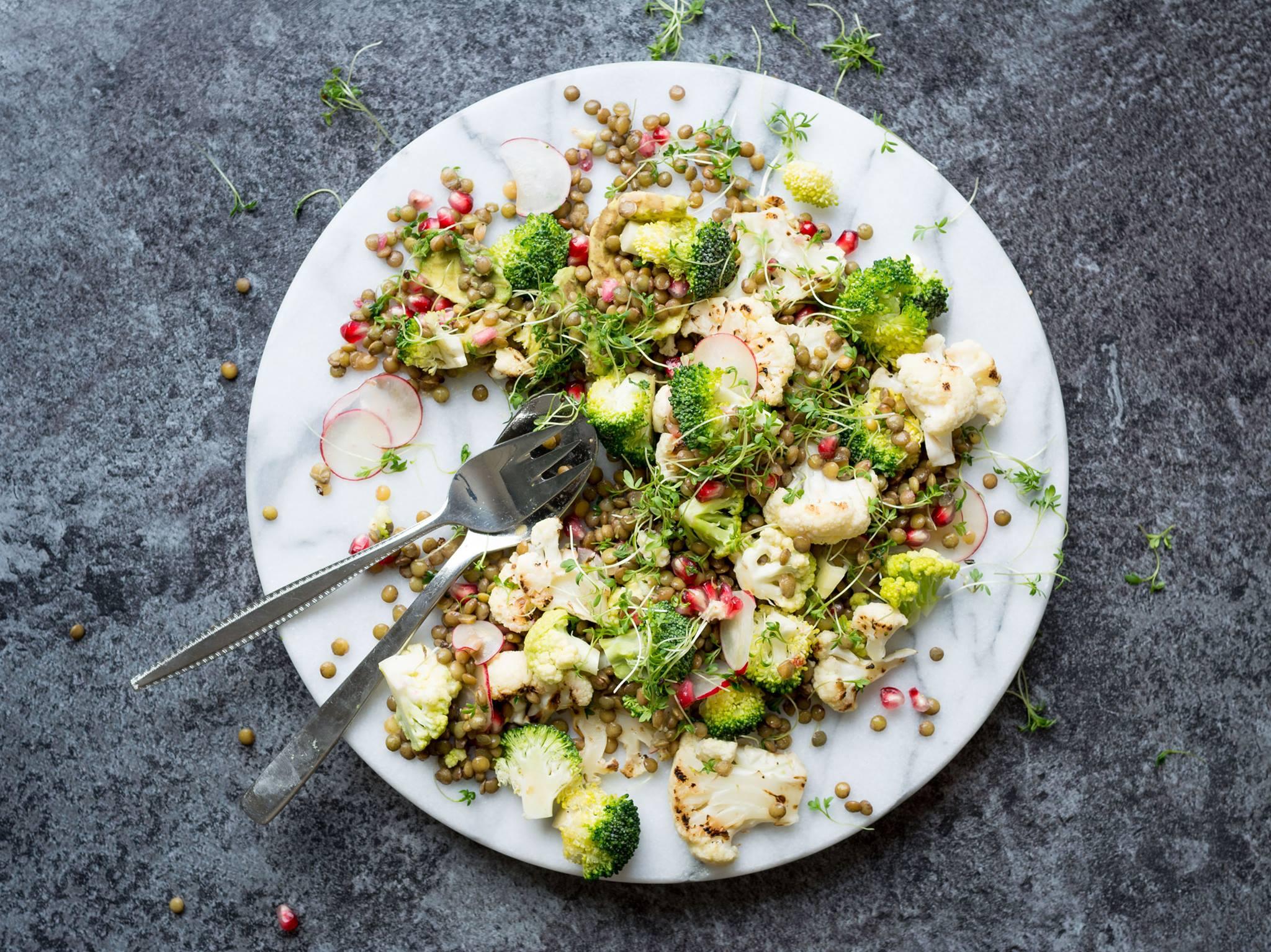Aufregung auf Nahrungsmittelphotographie